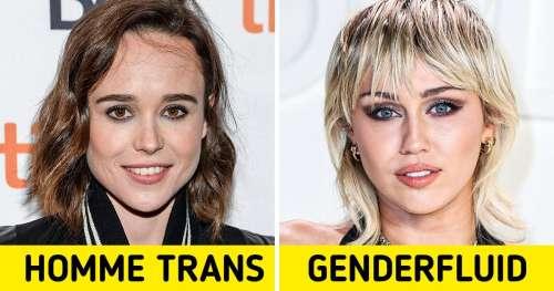 13 Célébrités qui ont fièrement fait leur coming out en tant que transgenres ou non-binaires
