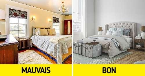 10 Erreurs à ne pas faire pour avoir une chambre chaleureuse
