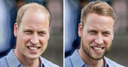 Voici à quoi ressembleraient les membres de la famille royale s'ils correspondaient parfaitement aux critères de beauté modernes