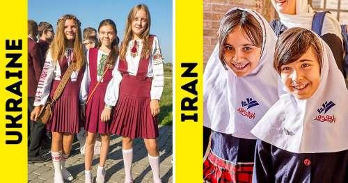 Découvre à quoi ressemblent les uniformes scolaires de 10 pays du monde (nouvelle sélection)