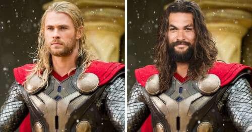 Nous avons imaginé à quoi ressembleraient 12 super-héros de Marvel et DC s'ils changeaient de rôles