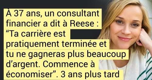Comment Reese Witherspoon est passée de simple jolie blonde à l'une des personnes les plus influentes d'Hollywood en commençant à faire des films pour les femmes