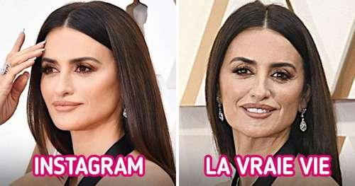 20+ Photos honnêtes des femmes célèbres sur Instagram et dans la vraie vie
