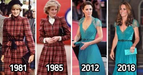15 Tenues portées plus d'une fois par les femmes de la famille royale britannique
