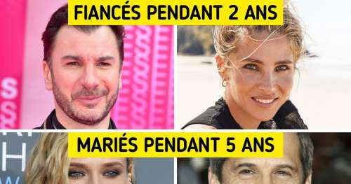 15 Stars françaises qui ont été en couple et nous ne le savions pas