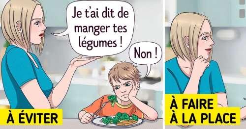 8 Astuces pour que les parents réussissent à faire manger des aliments sains à leurs enfants