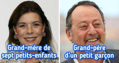 14 Célébrités françaises qui sont déjà grands-parents