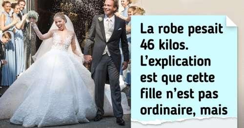 9 Vedettes qui ont décidé que leur robe de mariée serait la plus originale (et elles ont réussi)