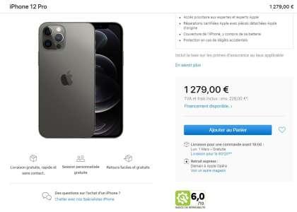 Apple ajoute l'indice de réparabilité des iPhone & Mac en France