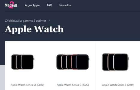 Mac2Sell propose la première cote de référence des Apple Watch