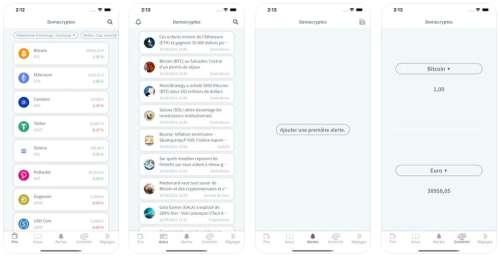DemoCryptos, l'app 100% Crypto (cours, actualités & alertes)