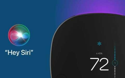 Le 1er thermostat connecté compatible avec Siri est celui d'Ecobee