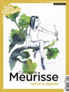 Catherine Meurisse à Beaubourg