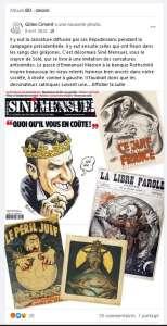 Jean Solé dans « Siné Mensuel » : histoire d'un dessin dévoyé