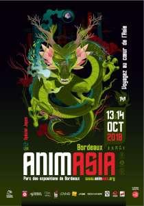 14e festival Animasia à Bordeaux (Les 13 et 14 octobre 2018)