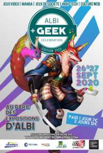 Albi Geek Celebration à Albi (Les 26 et 27 septembre 2020)