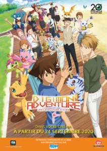 Digimon Adventure : Last Evolution Kizuna au cinéma (Du 24 au 27 septembre 2020)
