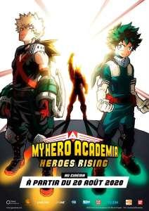 My Hero Academia : Heroes Rising au cinéma (À partir du 20 août 2020)