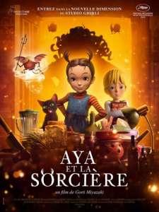 Aya et la sorcière au cinéma (À partir du 18 août 2021)