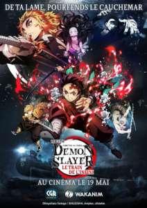 Demon Slayer le train de l'infini au cinéma (À partir du 19 mai 2021)