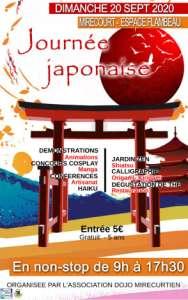 4e journée japonaise  à Mirecourt (Le 20 septembre 2020)
