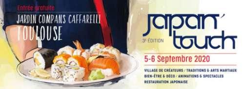 3e Japan Touch  à Toulouse (Les 5 et 6 septembre 2020)