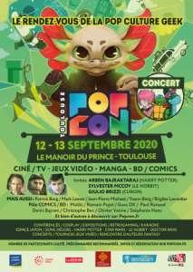 Popcon  à Toulouse (Les 12 et 13 septembre 2020)