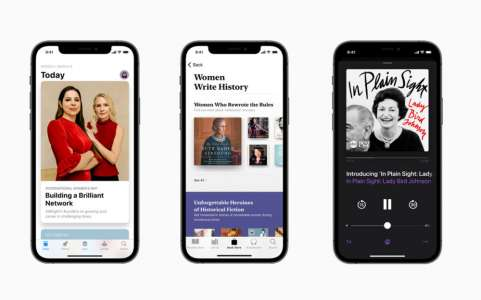 Apple célèbre le mois de l'histoire des femmes et la journée internationale des droits des femmes avec ses services