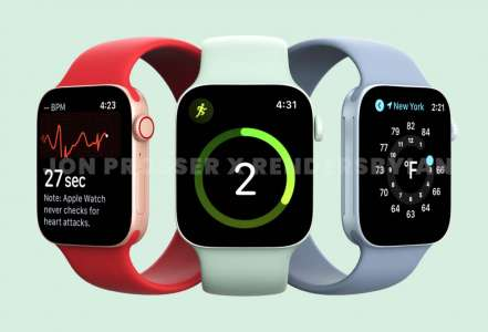 L'Apple Watch Series 7 aurait une batterie plus grosse et de nouvelles couleurs