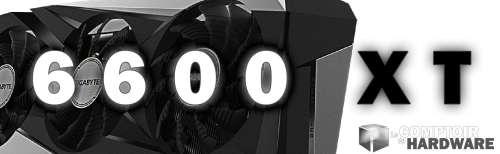 Test • AMD Radeon RX 6600 XT
