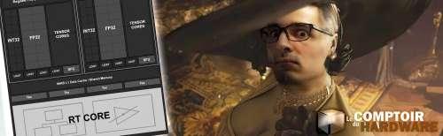 Experience • Impact visuel et performances DXR pour Resident Evil Village