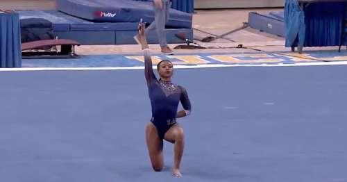 """Vidéo. En célébrant l'""""excellence noire"""", la gymnaste Nia Dennis éblouit InternetBBC News Online 27/01/2021 - 19:58"""
