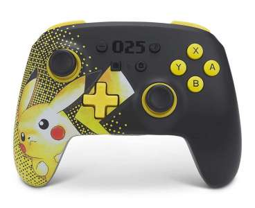 Une manette Switch Pikachu