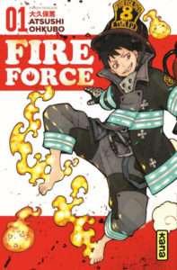 Fire Force – tomes 1 à 4 de Atsushi Ohkubo