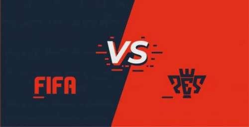 FIFA vs PES (Pro Evolution Soccer)