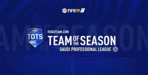 FIFA 19 Saudi Professional League Team of the Season