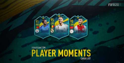 FIFA 20 Player Moments List