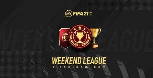 FIFA 21 Weekend League Calendar