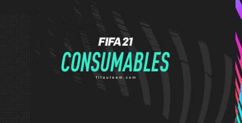 FIFA 21 Consumables – Position, Contracts, League, Style and Healing Itens