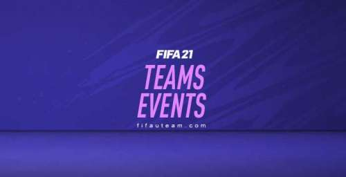 FIFA 21 Team Events – Objectives and Rewards List