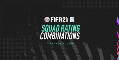 FIFA 21 Squad Rating Combinations