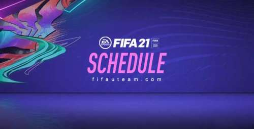 FIFA 21 Schedule – New Daily Content and FUT 21 Dates