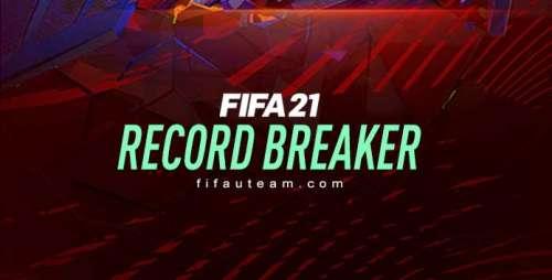 FIFA 21 Record Breaker Cards List