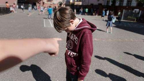 Harcèlement scolaire : les chiffres qui font froid dans le dos
