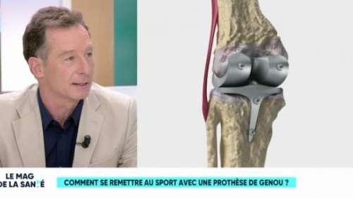 Quel sport pratiquer avec une prothèse de genou ?