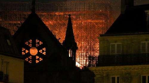 L'incendie de Notre-Dame au cœur d'une mini-série adaptée d'un reportage du