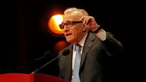 Martin Scorsese au Festival Lumière :