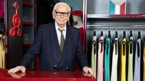 Le couturier français Pierre Cardin est mort à l'âge de 98 ans