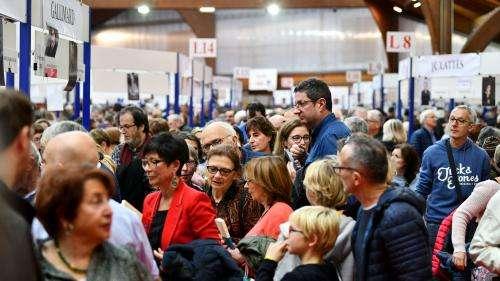Foire du livre de Brive : Jean-Paul Dubois, prix Goncourt 2019, en clôture d'un événement très populaire