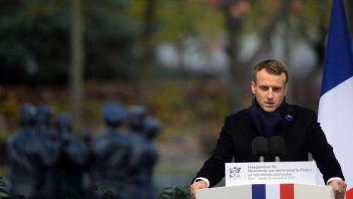 Commémorations du 11-Novembre : Emmanuel Macron inaugure un monument dédié aux soldats morts au combat en opération extérieure